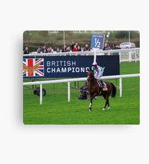 Frankel- British Champion!  Canvas Print