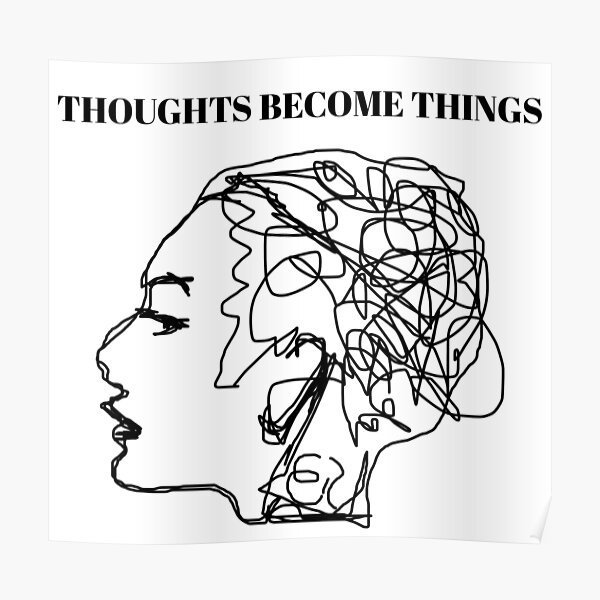 The Law Of Attraction Gift | LOA Presents For Men And Women | Reality Creation Poster