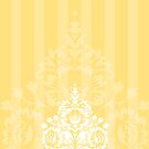 elegant serene pattern 7 by Kat Massard