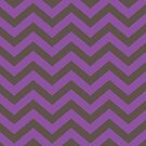 Bold Chevron Pattern 7 by Kat Massard
