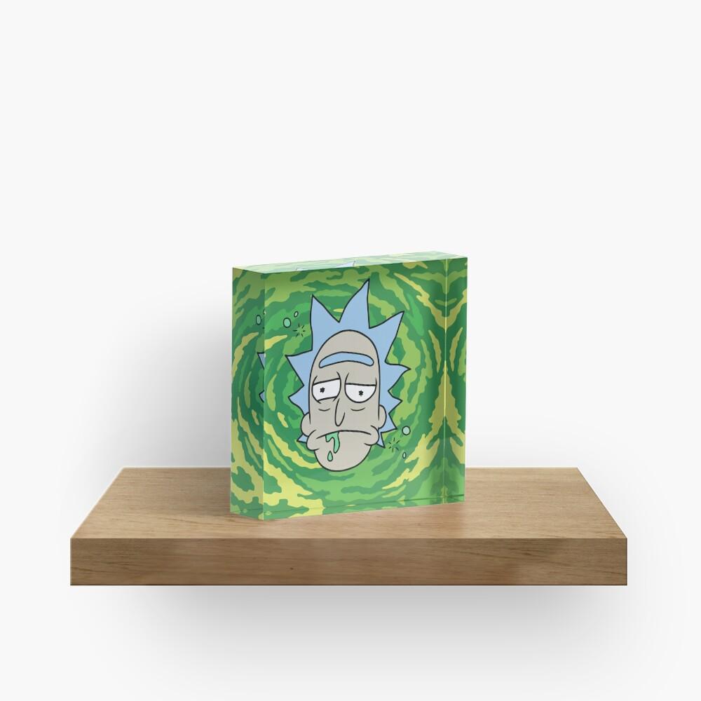 Sick Rick Acrylic Block