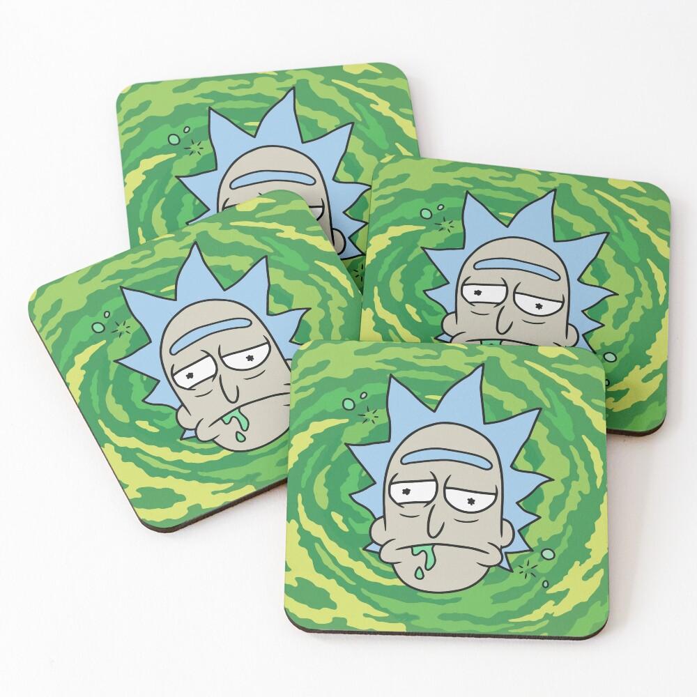 Sick Rick Coasters (Set of 4)