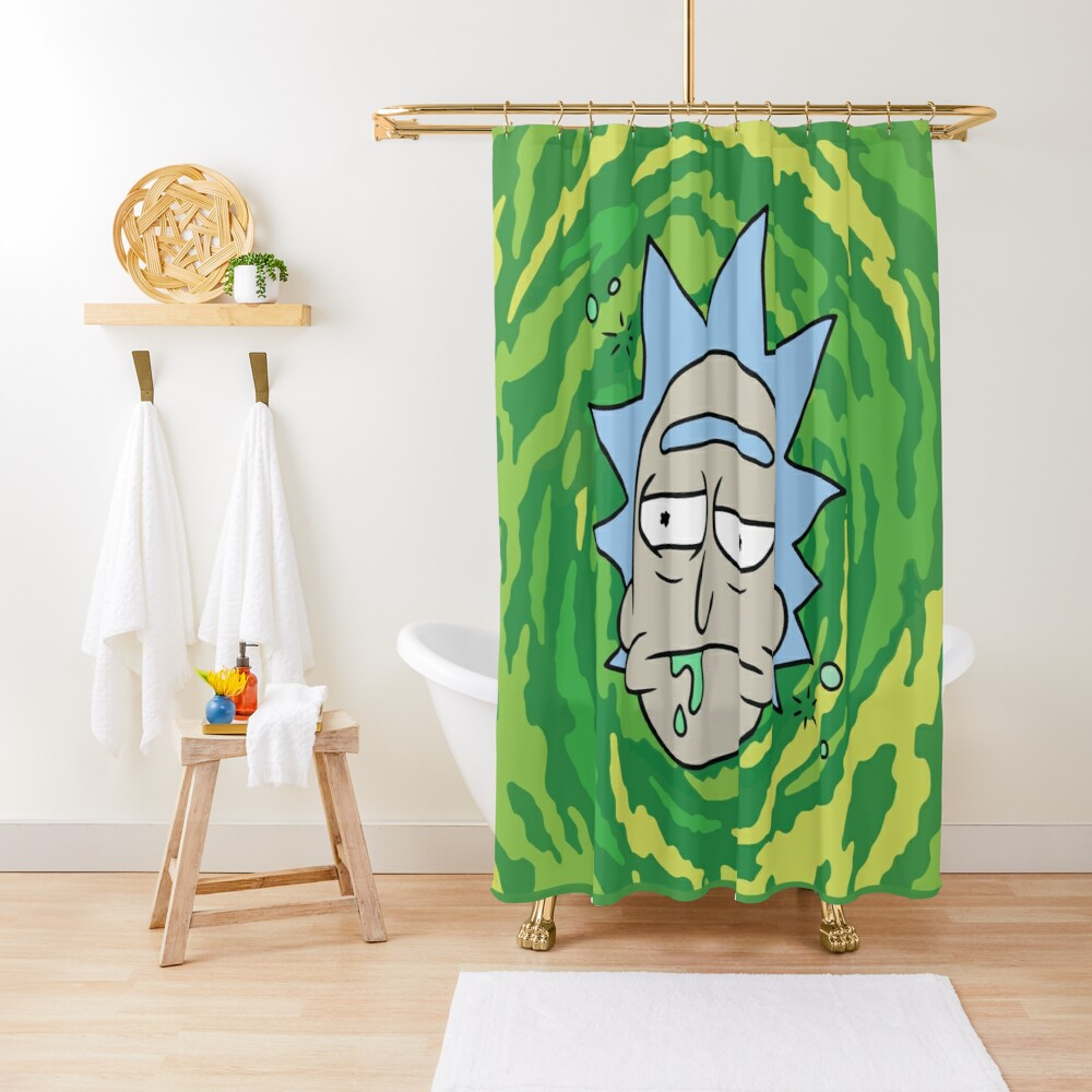 Sick Rick Shower Curtain