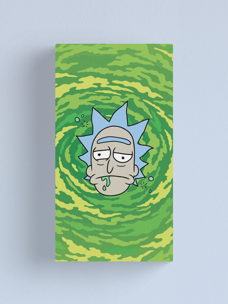 Alternate view of Sick Rick Canvas Print