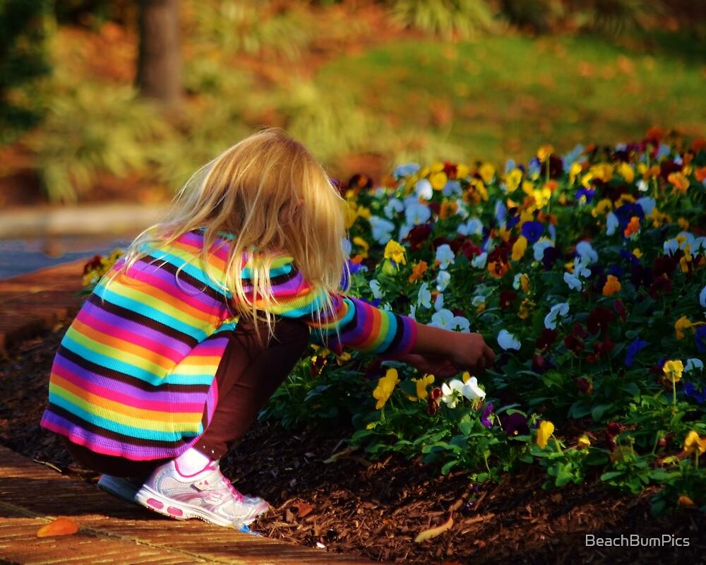 Flower Girl by BeachBumPics