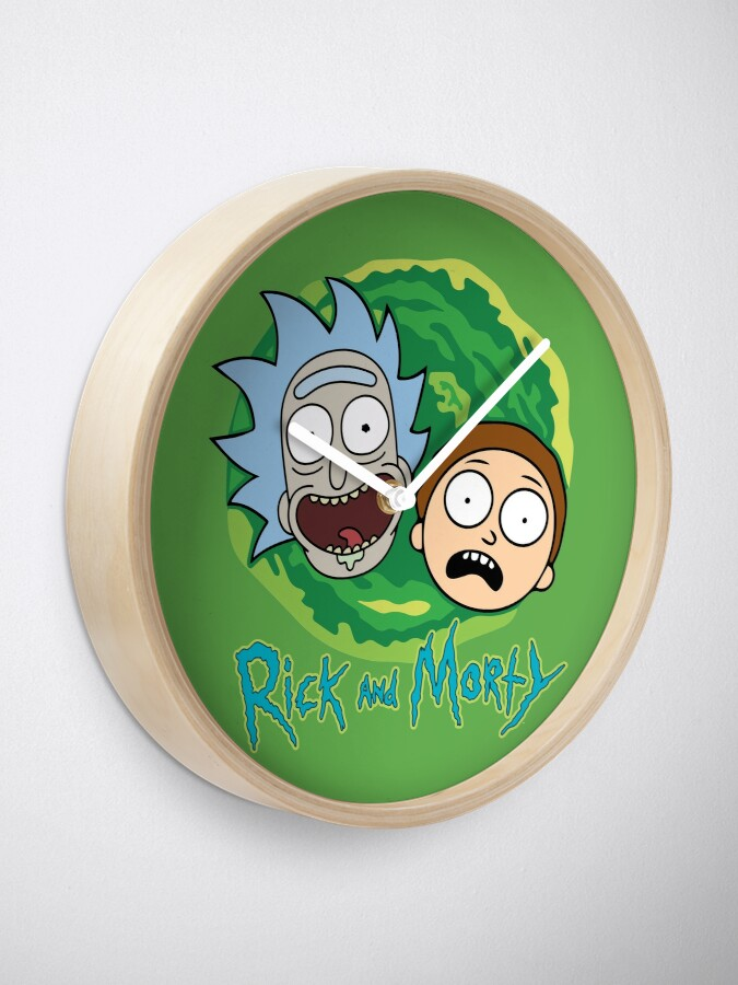 Alternate view of Rick and Morty Portal Clock