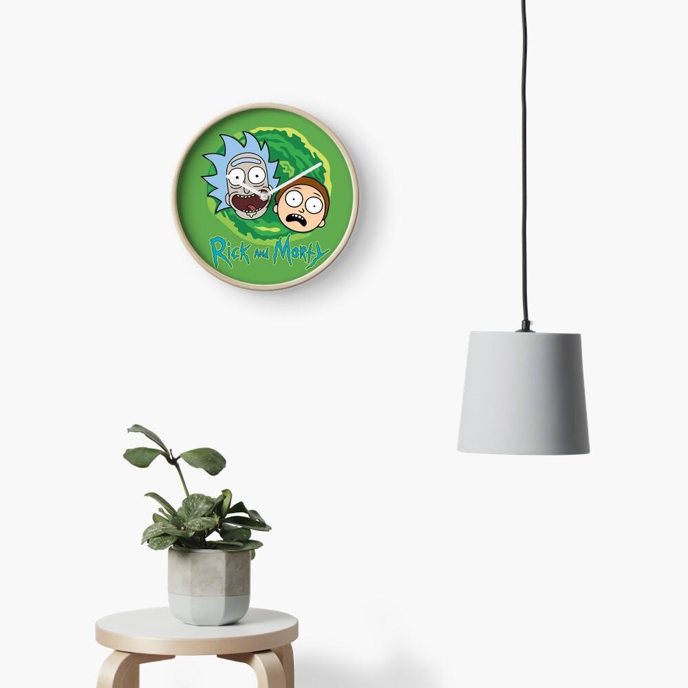 Rick and Morty Portal Clock