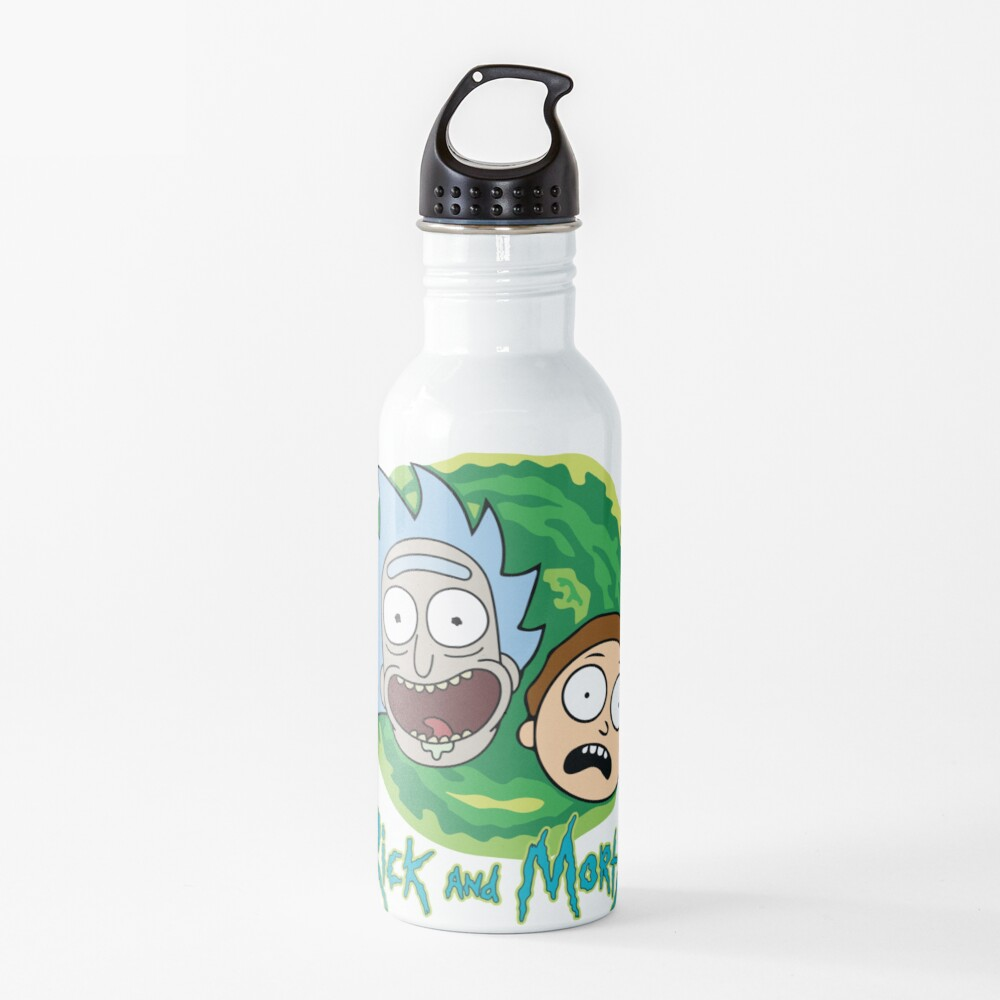 Rick and Morty Portal Water Bottle