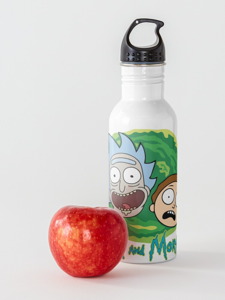 Alternate view of Rick and Morty Portal Water Bottle