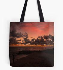 Glowing Inferno Tote Bag