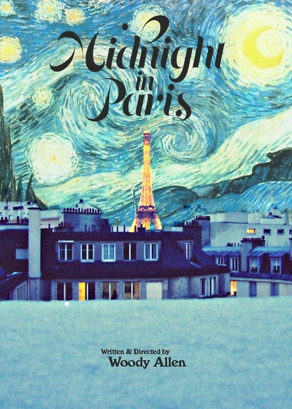 Quot Midnight In Paris Poster Quot By Starforest Redbubble