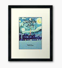 Midnight In Paris Poster Framed Print