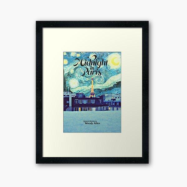 Midnight In Paris Poster Framed Art Print