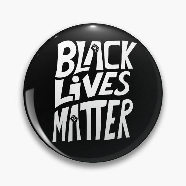 Black Lives Matter Deo Art Pin