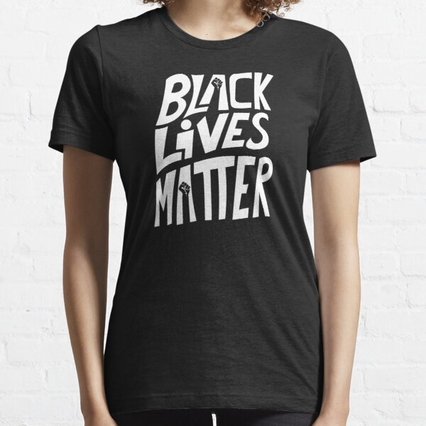 soutenir le mouvement Black Lives Matter T-shirt essentiel