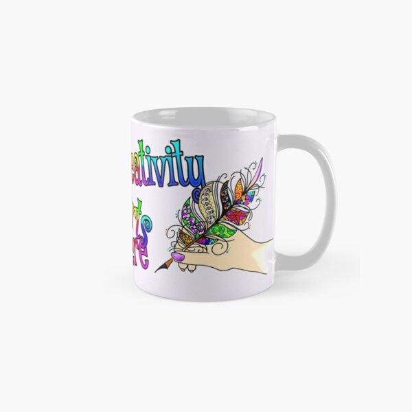 Creativity Starts Here, in Style Classic Mug