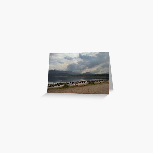 The Beautiful Loch , Morlich Greeting Card