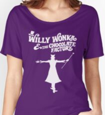 Willy Wonka & The Chocolate Factory Women's Relaxed Fit T-Shirt