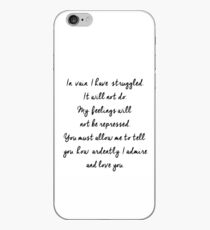 In vain I have struggled iPhone Case