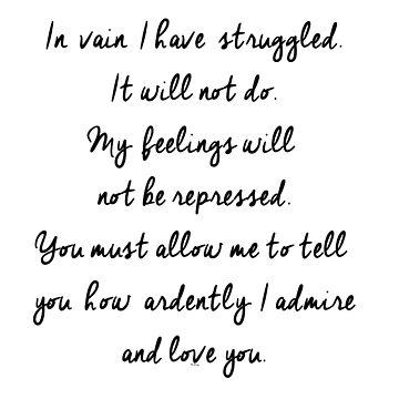 In vain I have struggled by wwshd