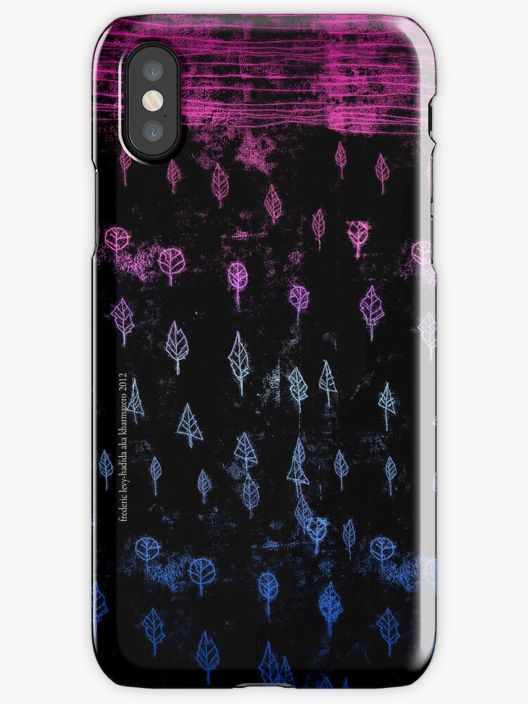 the forest - iphone case by frederic levy-hadida