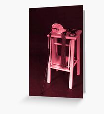 Red Room Of Pain Greeting Card
