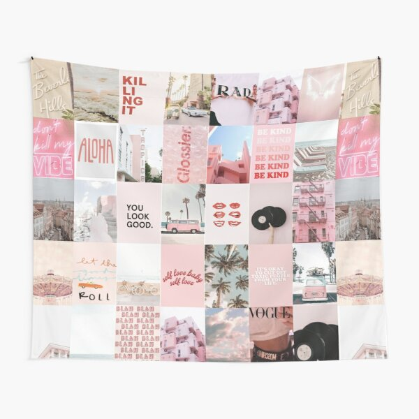 Tumblr Collage Tapestry