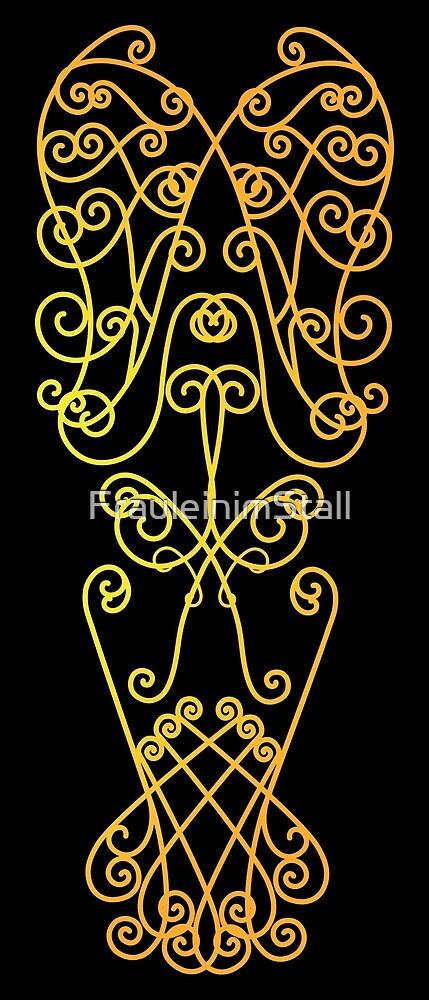 Golden ornament by FrauleinimStall