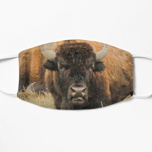 Bison Portrait Mask