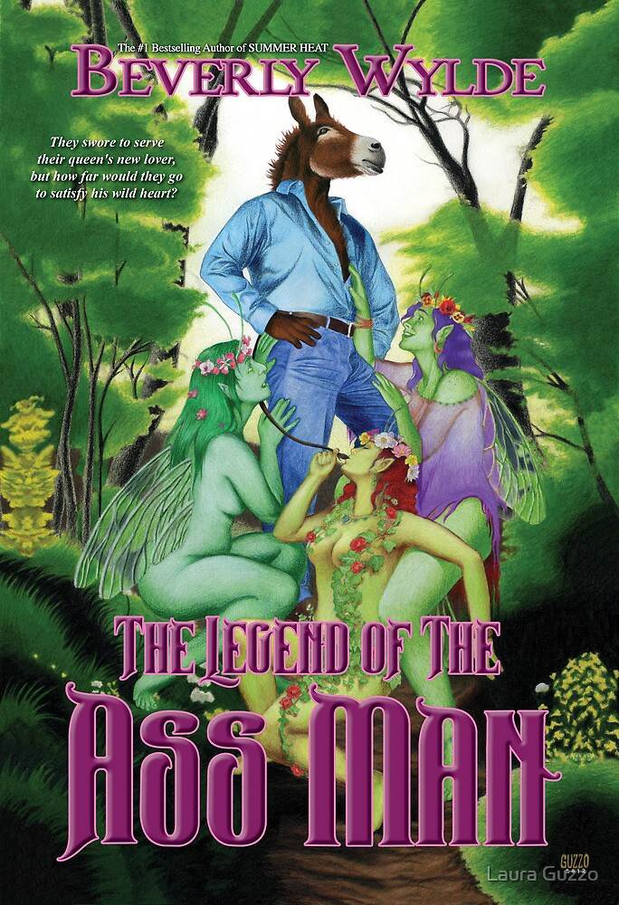 The Legend of The Ass Man (with text) by Laura Guzzo