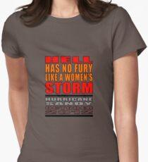 Hurricane Sandy 2012 Womens Fitted T-Shirt
