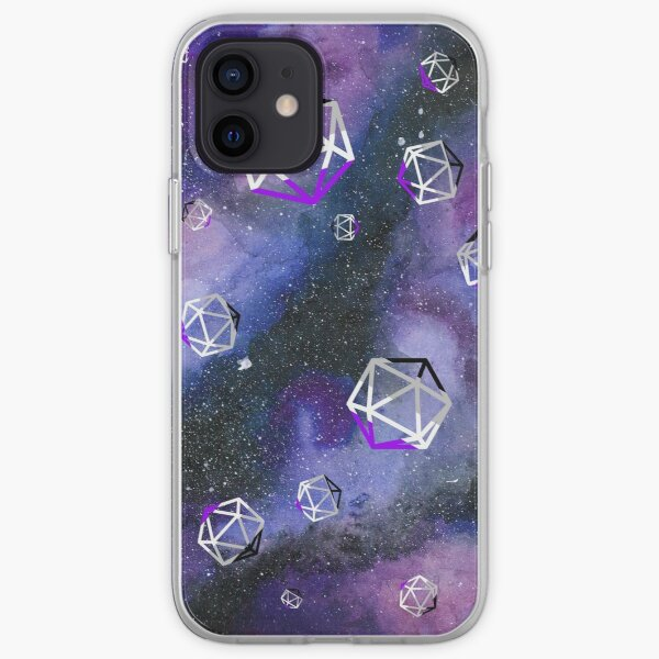 ace dice in space iPhone Soft Case