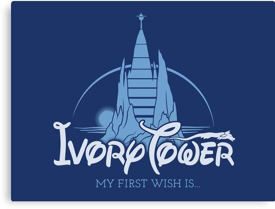 Ivory Tower by victorsbeard