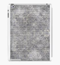 Literary 01 iPad Case/Skin