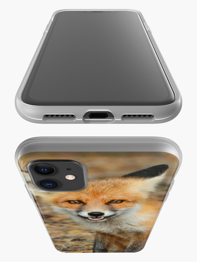 Alternate view of Cheeky fox iPhone Case & Cover