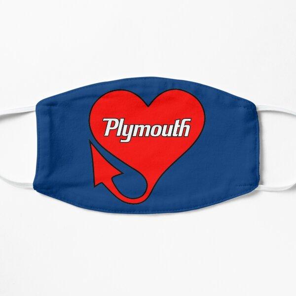 Plymouth Heart Flat Mask
