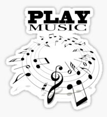 PLAY MUSIC Sticker