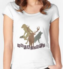 The Marauders Women's Fitted Scoop T-Shirt