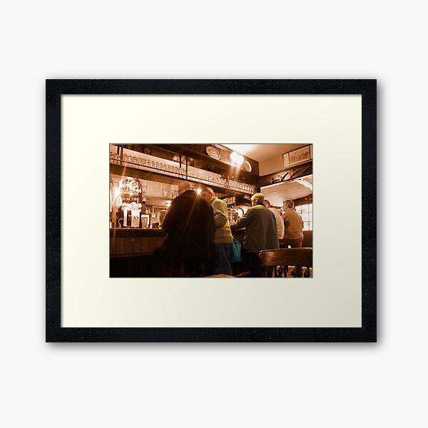 Old English Gentlemen Framed Art Print