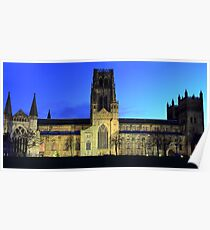 Durham Cathedral panorama Poster