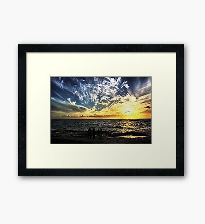 To Feel So Small Framed Print