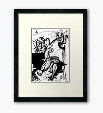 021 Framed Print