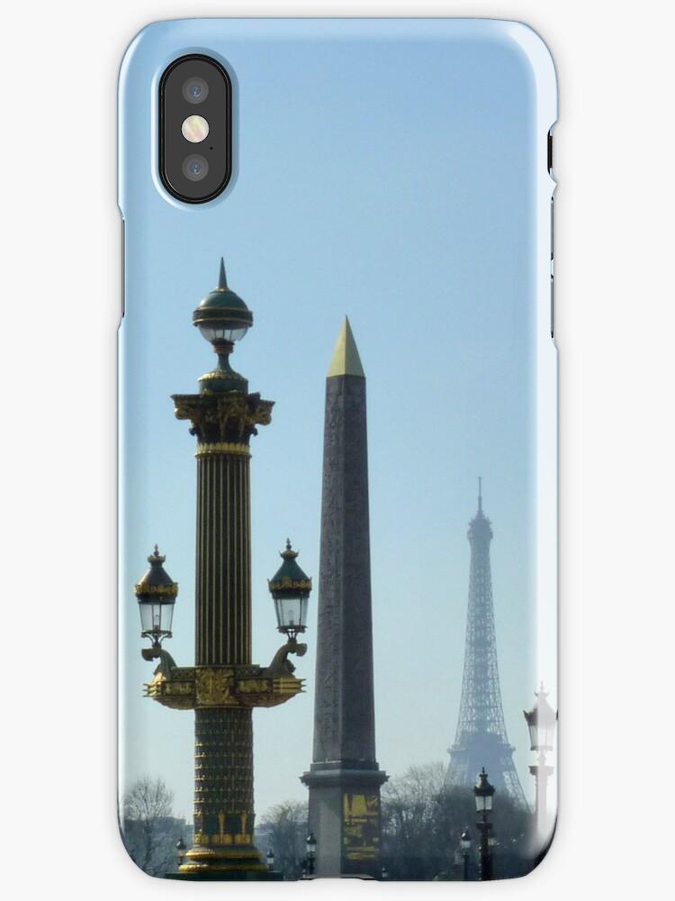Paris Lover's iPhone by bubblehex08