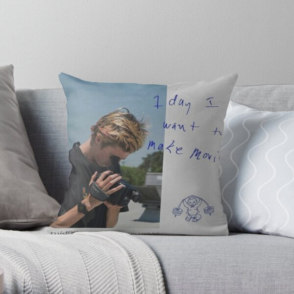 mid90s - 1 day i want to make movies. Throw Pillow