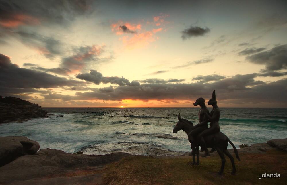 Waiting on Sunrise by yolanda