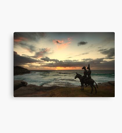 Waiting on Sunrise Canvas Print