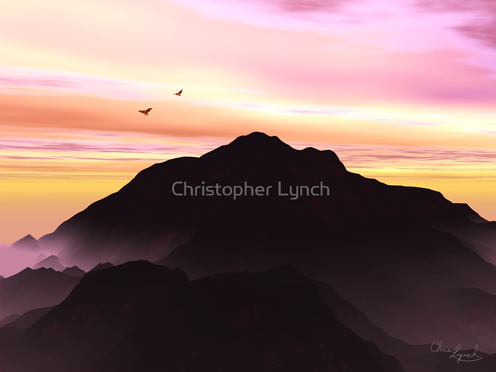 Mountain Silhouette by Christopher Lynch