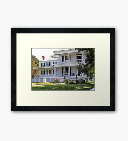 Pembroke Hall; For Sale Framed Print