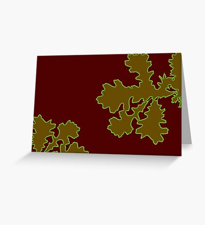 Leaves With A Difference Greeting Card