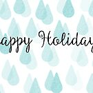 Happy Holidays drops by Jessica Gardner